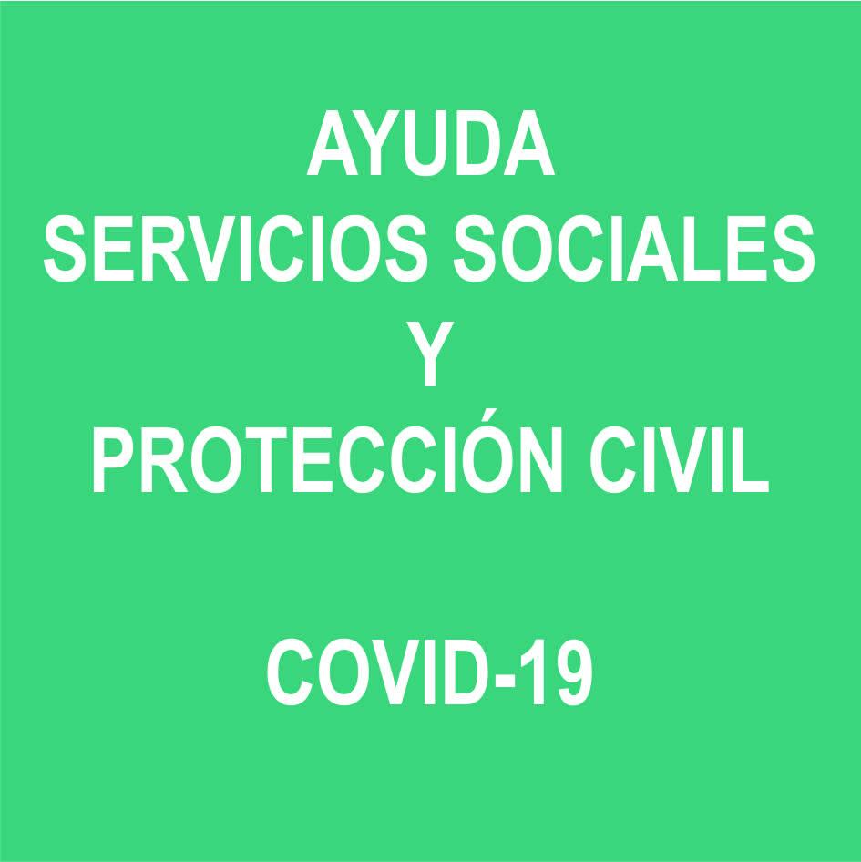 Ayuda Servicios Sociales y Protección Civil