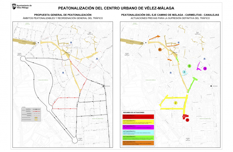 A partir del 9 de abril serán efectivos los cambios de circulación previstos de cara a la peatonalización del centro