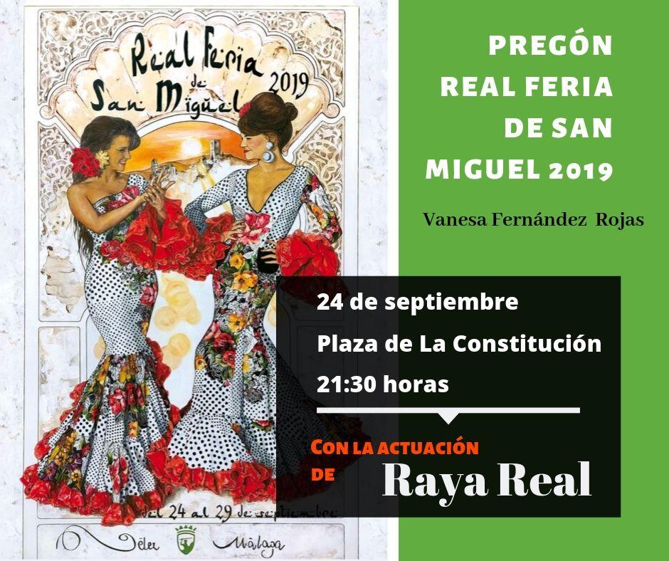 Pregón Real Feria de San Miguel 2019