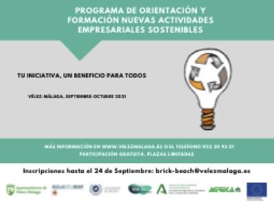 Programa de Orientación y Formación, Nuevas Actividades Empresariales Sostenibles