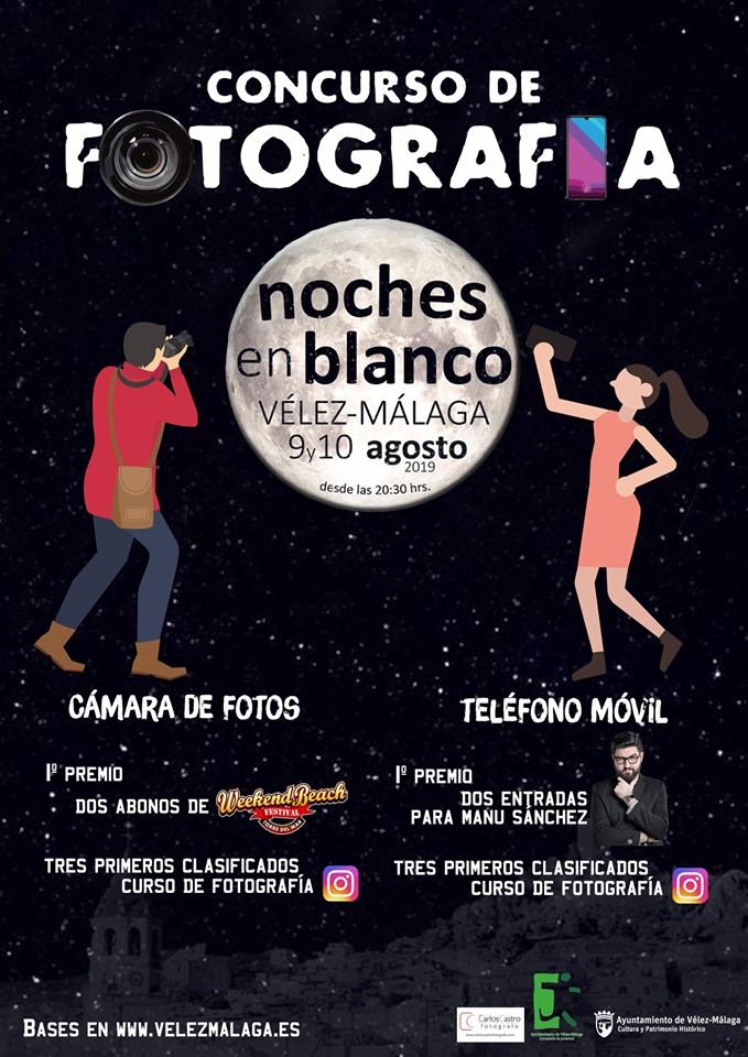 Bases del concursos fotografia #NochesEnBlancoVLZ