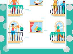 Concurso decoración balcones, ventanas y escaparates Real Feria de San Miguel 2020