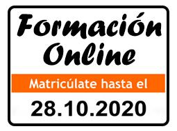 Formación Online, matrícula abierta