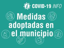 Información de interés y medidas municipales relacionadas con el Coronavirus